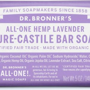 Xà Bông Bánh Hữu Cơ Dr.Bronner's Hương Lavender