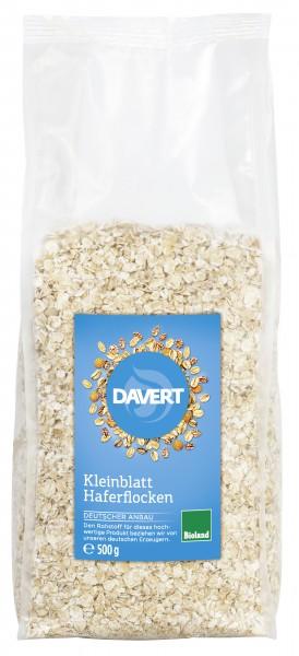 Yến mạch hữu cơ cán mỏng Davert - 500g