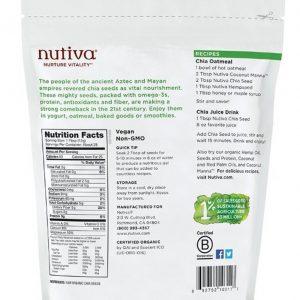 Hạt chia seed Nutiva 1.36kg